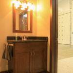 Bathroom in Shed in Goshen, Indiana