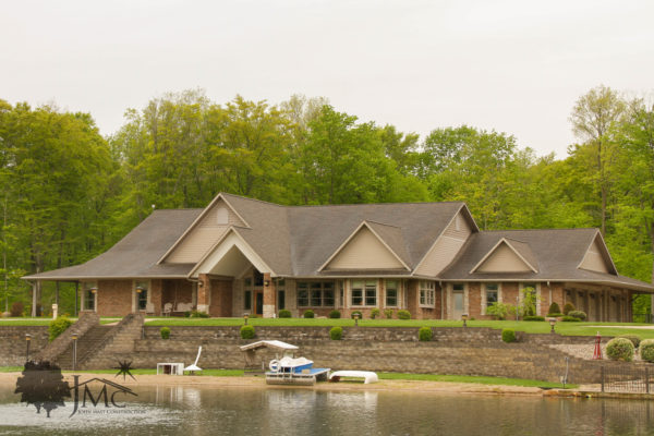 Expansive House and Pond in Bremen, Indiana