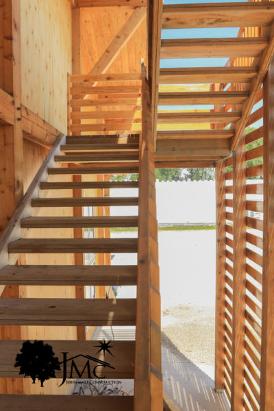 Exterior Stairs of Loft in Bremen, Indiana