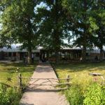 House has Pier Walkway to Pond in Goshen, Indiana