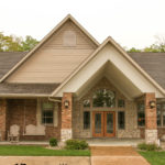 Large Exterior Entry in Bremen, Indiana