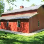 Red Barn in Goshen, Indiana