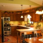 Small Traditional Kitchen in Nappanee, Indiana