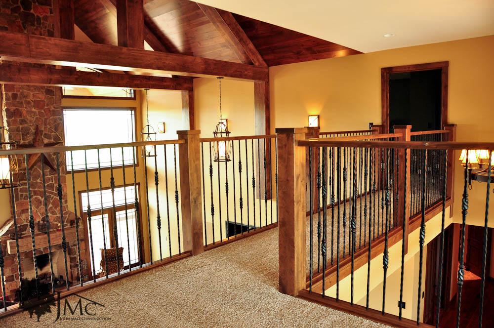 Walkway upstairs balcony in bremen indiana john mast for Balcony upstairs