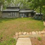 Back Porch at Lake House in Goshen, Indiana