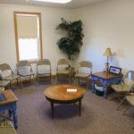 Sunday school rooms in church in Goshen, Indiana