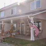 Front porch in Mishawaka, Indiana