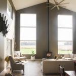Large living-room windows in Mishawaka, Indiana