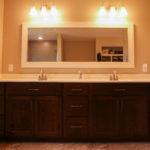 Double sink in master bathroom Mishawaka, Indiana