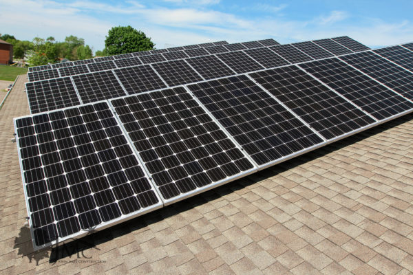 Solar power in Nappanee, Indiana