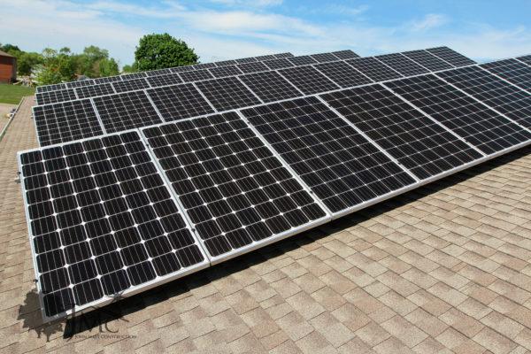 Solar power in Nappanee, Indiana